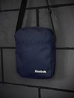 Барсетка Reebok синяя 600д, фото 1