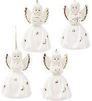 Фарфоровый колокольчик Ангел, 11 см, 4 вида, фото 1