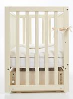 Детская кроватка Верес Соня ЛД 13 Слоновая кость маятник с ящиком, фото 3