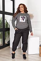 Спортивный женский костюм большие размеры Г05368.3, фото 1