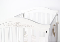 Детская кроватка ВЕРЕС Соня ЛД3 Белая без ящика ЕС новый функционал, фото 2