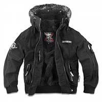Куртка с капюшоном Dobermans Aggressive HONOUR Black