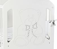 Детская кроватка Верес Соня ЛД-8 Белая без ящика, фото 2