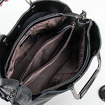 Сумка Женская Классическая кожа ALEX RAI 9-01 1540-1 black, фото 3
