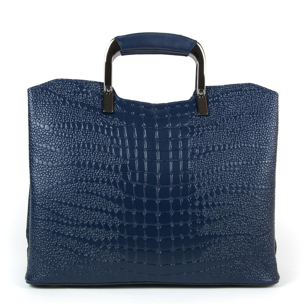 Сумка Женская Классическая кожа ALEX RAI 9-01 1540-1 blue