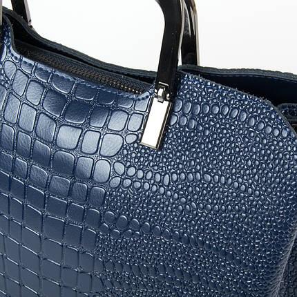 Сумка Женская Классическая кожа ALEX RAI 9-01 1540-1 blue, фото 2