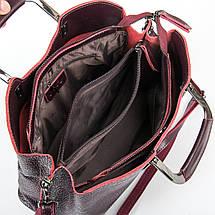 Сумка Женская Классическая кожа ALEX RAI 9-01 1540-1 wine-red, фото 3