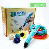 3D Ручка для Детей с LCD дисплеем 3D Pen 2 RP 100B