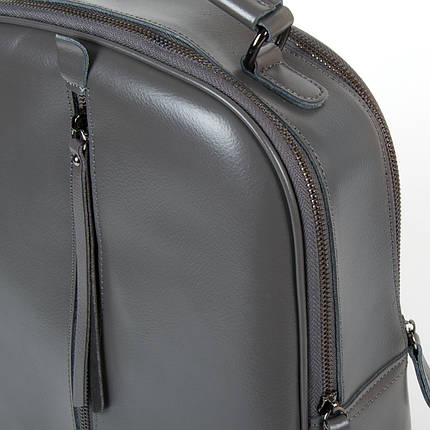 Сумка Женская Рюкзак кожа ALEX RAI 9-01 8694-3 grey, фото 2