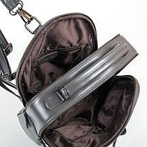 Сумка Женская Рюкзак кожа ALEX RAI 9-01 8694-3 grey, фото 3