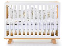Детская кроватка Верес Соня ЛД1 Манхеттен с маятником Бело-Буковая, фото 2
