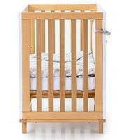 Детская кроватка Верес Соня ЛД1 Манхеттен с маятником Бело-Буковая, фото 3