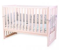 Детская кроватка Верес Соня ЛД13 Розовая без ящика, фото 2
