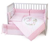 Постельный комплект Верес Flamingo pink 6 предметов, фото 2