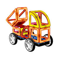 Магнитный конструктор Стройтехника Magnistar LT6001 Limo toy 87 деталей, фото 3