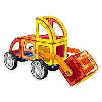 Магнитный конструктор Стройтехника Magnistar LT6001 Limo toy 87 деталей, фото 5
