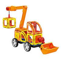 Магнитный конструктор Стройтехника Magnistar LT6001 Limo toy 87 деталей, фото 7