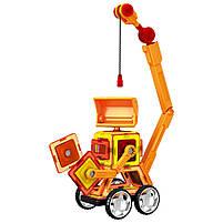 Магнитный конструктор Стройтехника Magnistar LT6001 Limo toy 87 деталей, фото 8