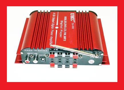 UKC DJ-450 Усилитель звука USB + Mp3 4*55W
