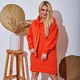 Женское Платье-Туника на флисе Батал, фото 6