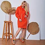 Женское Платье-Туника на флисе Батал, фото 7