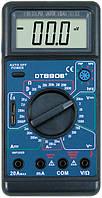 Мультиметр тестер  DT 890B c измерением емкости