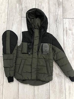 Куртка жилетку на хлопчика розмір 34-42 Хакі