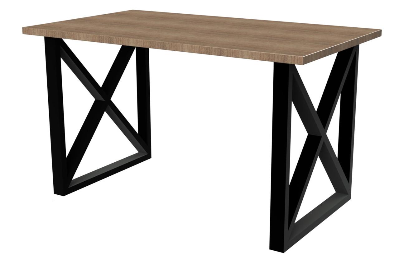 Деревянный компьютерный стол LOFT с металлическими ножками от производителя