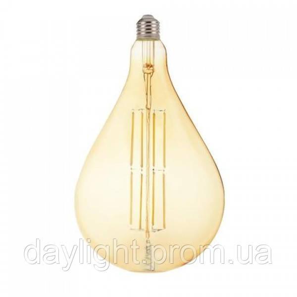 Светодиодная лампа Filament TOLEDO 8W Е27 Amber