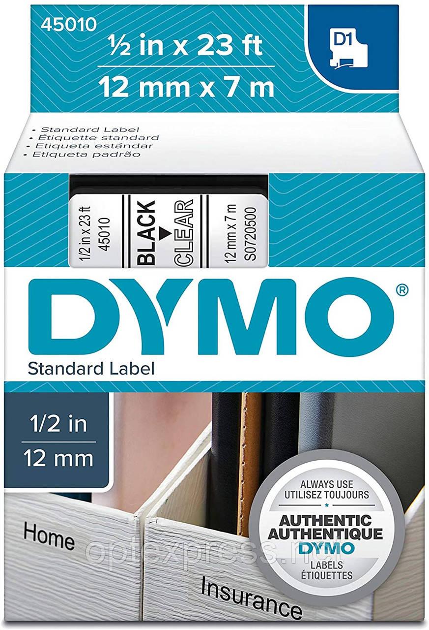 Картридж  S0720500 с пластиковой лентой системы D1 для  термопринтеров DYMO 12 мм х 7 м