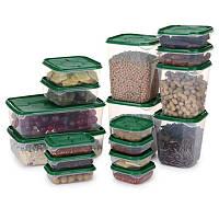Набор пищевых контейнеров 17 шт., фото 1