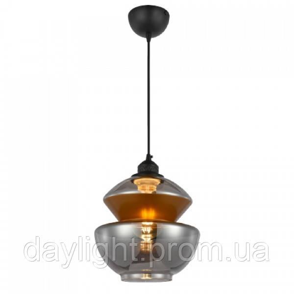 Светильник подвесной HARMONY-2 титановый!медь