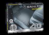 Автомобильные коврики в салон SAHLER 4D для NISSAN Rogue 2014-2020 NI-02, фото 9