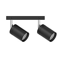 Світильник трековий Ultralight TRL111 2x10W чорний