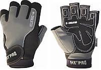 Перчатки для фитнесса с удлиненными пальцами POWER SYSTEM Серый