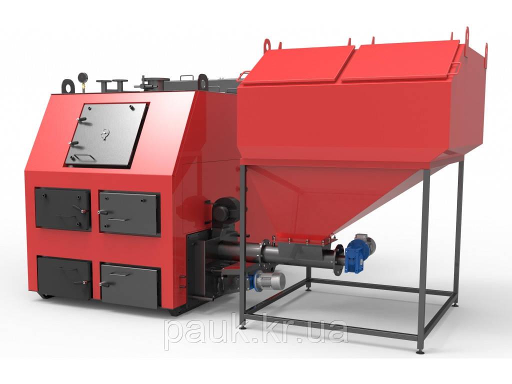 Котел для твердого топлива 550 кВт РЕТРА-4М, промышленный котел на всех видах твердого топлива