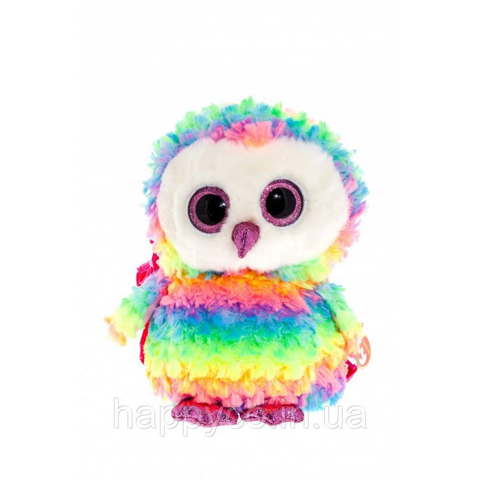 "TY Gear Разноцветная сова ""Owen"" рюкзак"