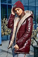 Двостороння зимова куртка для жінок / женская зимняя куртка, куртка двухсторонняя, куртка осень - зима