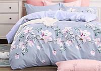 Комплект красивого и качественного постельного белья семейка, цветочек