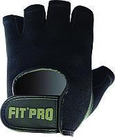 Перчатки для фитнеса с пенным уплотнителем POWER SYSTEM Черный