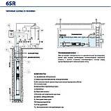 Насос погружной скважинный Pedrollo 6SR 36/6 - HYD (без двигателя), фото 3