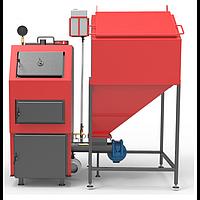 Пеллетный котел 40 кВт РЕТРА-4М, котел длительного горения с бункером