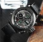 Мужские Наручные армейские часы AMST, кварцевые наручные мужские часы АМСТ, фото 8