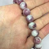 Турмалин розовый красивый браслет с розовым турмалином браслет натуральный турмалин Индия, фото 3