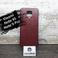 Силиконовый чехол под кожу для Xiaomi Redmi Note 9S Line Красный