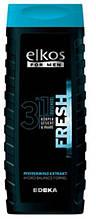 Гель для душа Elkos for Men 3in1 Fresh Shower Gel