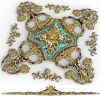 Розетка гипсовая, гипсовый декор, лепнина, лепной декор, гипсовые карнизы лепнина из гипса,