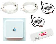 Готовый 4G WiFi комплект в частный дом или дачу (4G LTE MIMO 1700-2700 МГц 15 дБ, скорость до 150 Мбит/с)