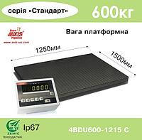 Весы платформенные складские 4BDU600-1215-П