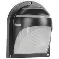 Светильник НПП2501, 60Вт Е27 черный, ресничка ІЕК